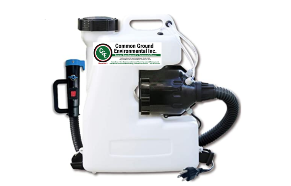 Commercial Sanitation Fogging